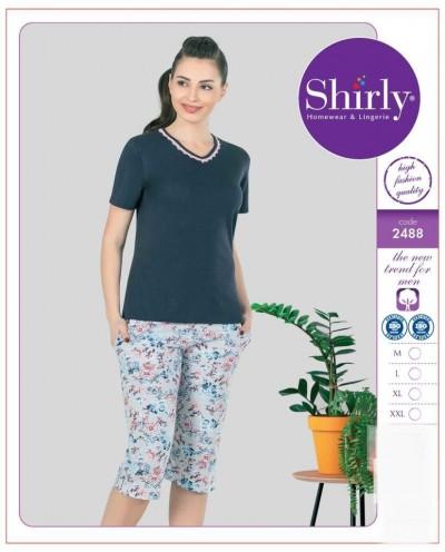 Shirly Kısa Kol Bayan Pijama Takımı