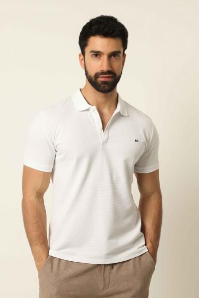Erkek Petek Polo T-shirt