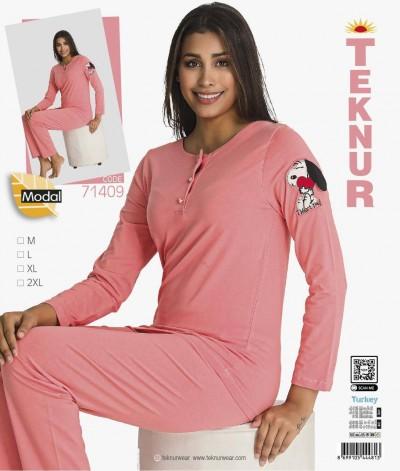 Teknur Bayan Pijama Takımı