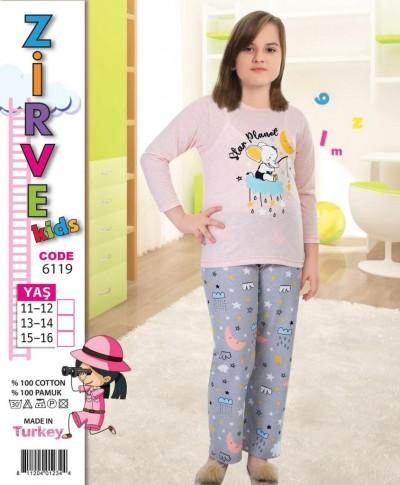 Zirve Genç kız pijama