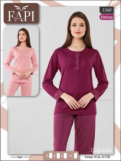 Fapi Bayan Pijama Takımı